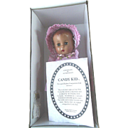 1996 Reproduction Effanbee Composition Doll Candy Kid in Box w/COA