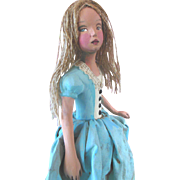 Vintage Alice in Wonderland Doll by Nancy Wiley Limited Edition exceptional