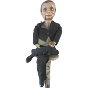 Vintage Charlie McCarthy Ventriloquist Dummy Composition Doll 1930s