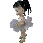 Vintage 1960s A Royal Doll Joy Ballerina with Big Eyes