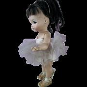 Vintage 1960s A Royal Doll Joy Ballerina with Big Eyes