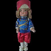 """F&B Ideal perhaps Composition Majorette Doll Vintage 1930s  16"""""""