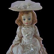 1960s Madame Alexander Portrette Godey Doll with Auburn Hair