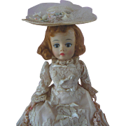 1960s Madame Alexander Portrette Godey Doll with Auburn Hair