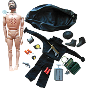 1960s Vintage GI Joe Doll & Secret Mission to Spy Island Hasbro Accessories