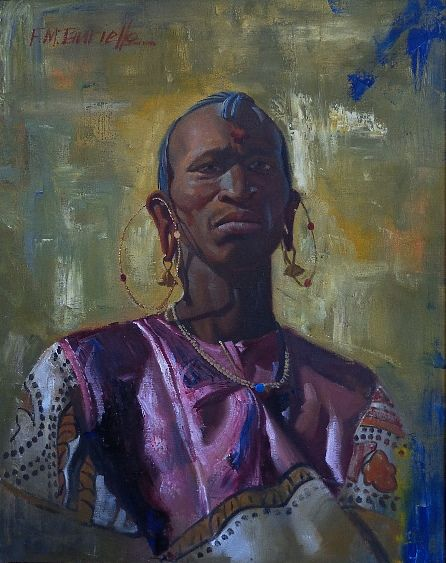 Frank M. Tauriello  African Chieftain