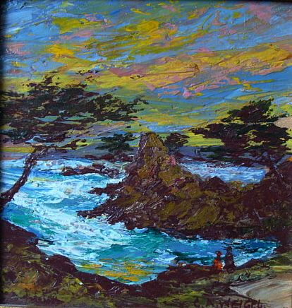 Charles Weigel   Monterey Sunset