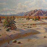 Bertha Faris Davis  California Desert near Palm Springs