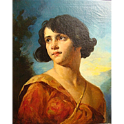 "Mozart Rottmann   ""A Young Girl""  (The Goddess Diana)"