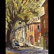 Edward E. Herrmann  Side Street in South Bend Indiana