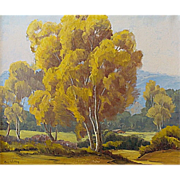 California Landscape with Sycamores by Amy Walton