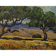 Arthur Burnside Dodge  California Oaks  Morro Bay 8x10