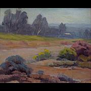 Arthur Gail Anderson   Arroyo Seco-San Fernando Valley  10x12 oil on canvas