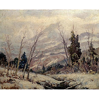 """Sierra Winter"" by Jefferson Stephen Ward"
