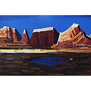 "Conrad Buff  ""Southwest Mountain Range"""