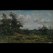 "Johan Hendrik Doeleman   ""Forest Clearing"""