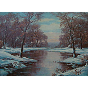"Anton Gutknecht   ""Winter's Delight"""