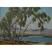 "Sam Hyde Harris  ""Eucalyptus near Carlsbad"""