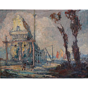 "Geoffrey Holt  ""Building the Galleon"""