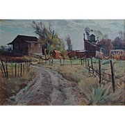 Paul Lauritz  Old Farm-Sonora California