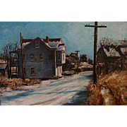 Harold Molter   A Street in Winter