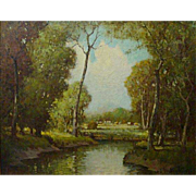 George Thompson Pritchard   River Clearing