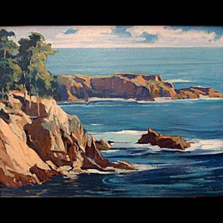 Louis Hovey Sharp   California Coast