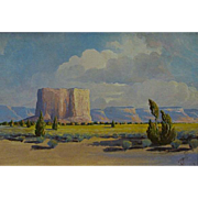 "J.R. Willis   ""The Enchanted Pueblo of Acoma"" (Sky City)"