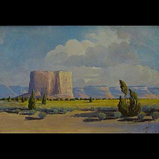 """J.R. Willis   """"The Enchanted Pueblo of Acoma"""" (Sky City)"""