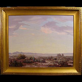 """Desert Vista-California"" by Conrad Buff"