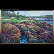 "Ben Abril  ""Morning at Cypress Point"""