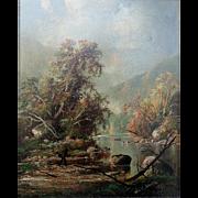 John R. Johnston  19th Century Landscape