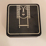 Deco Stylized Storage Tin