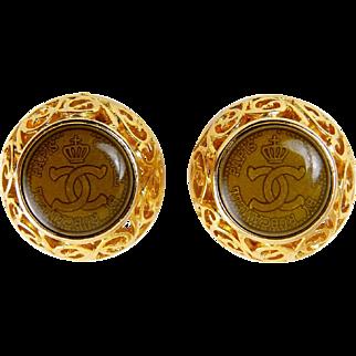 Chanel by Rubcamell 1980's Earrings, Barovier & Toso Venetian Glass