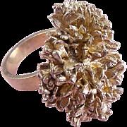 Mid-Century Danish Sterling Silver Flora Danica Modernist Ring – Eggert, Denmark