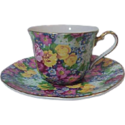 Royal Winton Chintz Made In England Julia Cup & Saucer Vintage