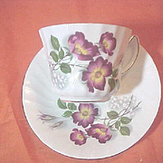 Royal Kendall fine bone china England Cup Saucer