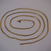 Monet Wonderful Very Long Coil Necklace 52 ""