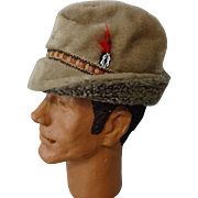 Mens Stetson Winter Hat Vintage 1970s Tyrolian Faux Fur German Oktoberfest Ear Flaps