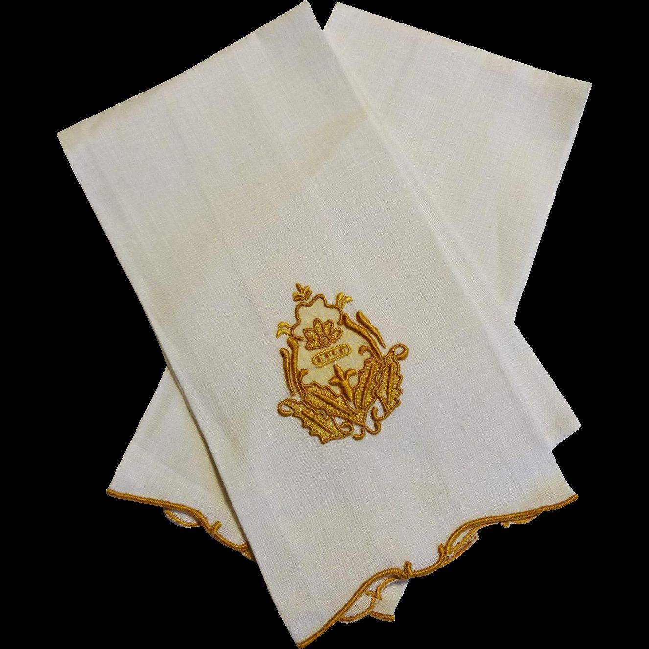Vintage Linen Towels 81