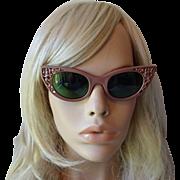 Polaroid Cool Ray Sunglasses Vintage 1950s Cat Eye Sun Glasses 72 - Red Tag Sale Item