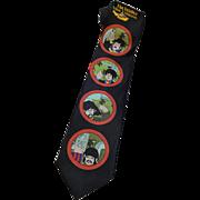 The Beatles Yellow Submarine Necktie Tie Vintage 1990s Ralph Marlin Dead Stock NWT