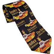 Beatles Novelty Necktie Vintage 1990s Ralph Marlin Yellow Submarine New With Tags