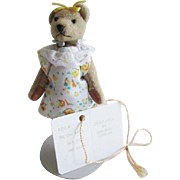 Deborah Canham Miniature Artist Teddy Bear Little Gem NWT