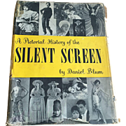 Vintage 1950s Silent Screen Film Book by Daniel Blum