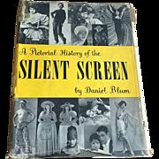 Vintage 1950s Silent Screen Film Book by Daniel Blum