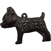 Advertising Promotional Dog Charm Fob Good Luck Ideal Dog Food Figural