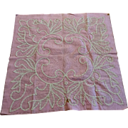 Antique Battenberg Lace Pattern To Make Large Doily Or Cloth