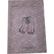 Lingerie Sewing Pattern Girdle Vintage 1960s Dolores St. Paul Size Small