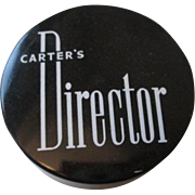 Carter Director Typewriter Ink Tin Advertising Unused Boston Company